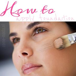 How To: Foundation