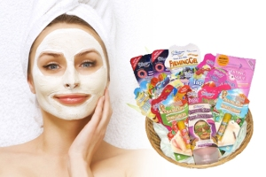 Spa Facial Mask. Dayspa